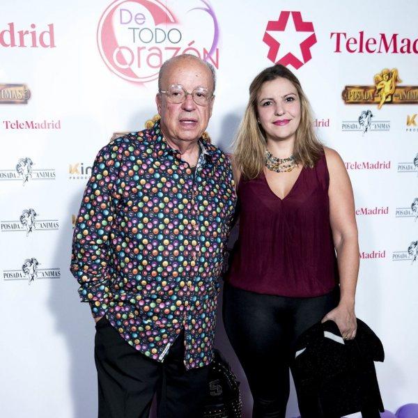 Famosos en la Fiesta de Telemadrid por el programa 'De todo corazón'