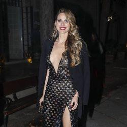 Vanesa Romero llegando a los Premios Cosmopolitan 2018