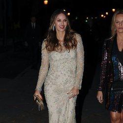 Helen Lindes llegando a los Premios Cosmopolitan 2018