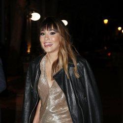 Aitana Ocaña llegando a los Premios Cosmopolitan 2018