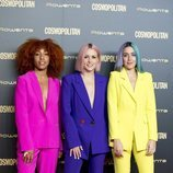 Sweet California en el photocall de los Premios Cosmopolitan 2018