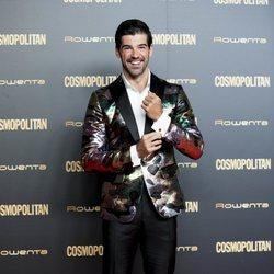 Miguel Ángel Muñoz en el photocall de los Premios Cosmopolitan 2018