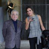 La Reina Letizia y Martin Scorsese en Oviedo