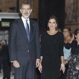 Los Reyes Felipe y Letizia en el Concierto Premios Princesa de Asturias 2018