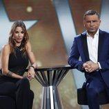 Techi y Jorge Javier Vázquez durante la sexta gala de 'GH VIP 6'