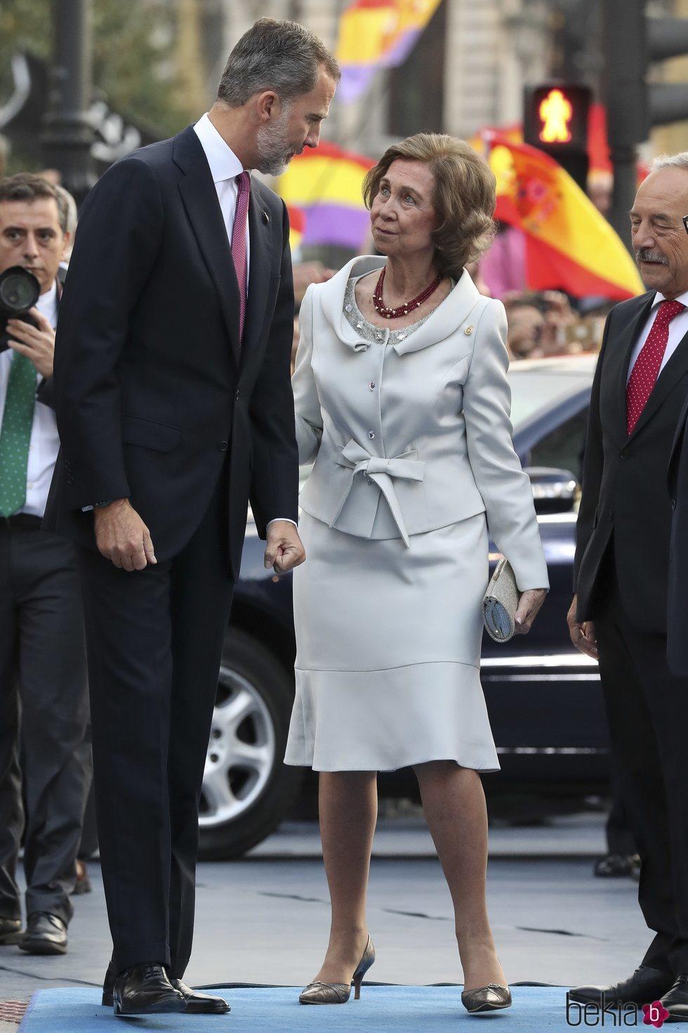 El Rey Felipe y la Reina Sofía en los Premios Princesa de Asturias 2018
