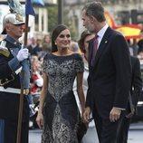 Los Reyes Felipe y Letizia en los Premios Princesa de Asturias 2018