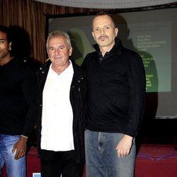 Miguel Bosé y Víctor Manuel