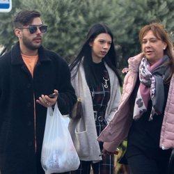 Alejandra Rubio y Álvaro Lobo visitan a Terelu Campos