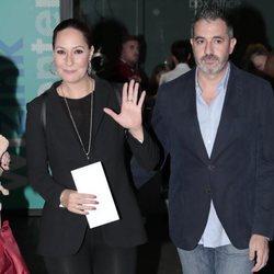 Rosario Mohedano y Andrés Fernández en el concierto de Pastora Soler