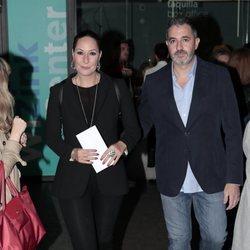 Rosario Mohedano y Andrés Fernández acuden al concierto de Pastora Soler