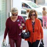 María Teresa Campos acompañando a su hija Terelu Campos a una revisión tras su doble mastectomía