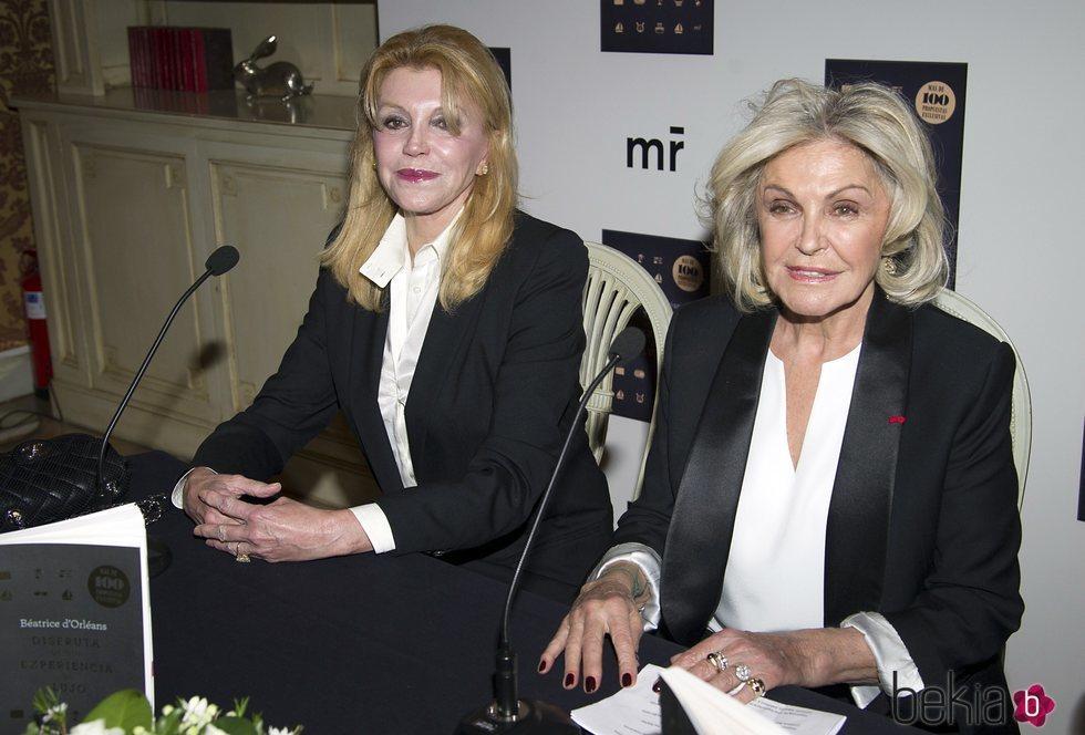 La Baronesa Thyssen acude a la presentación del libro de Beatriz de Orleans