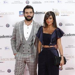 Antonio Velázquez y Marta González en los Premios Iris 2018