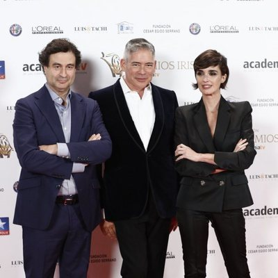 Pepe Rodríguez, Boris Izaguirre y Paz Vega en los Premios Iris 2018