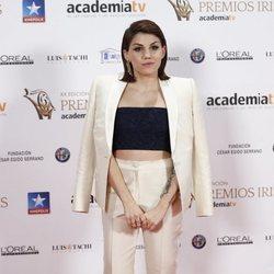 Angy Fernández en los Premios Iris 2018