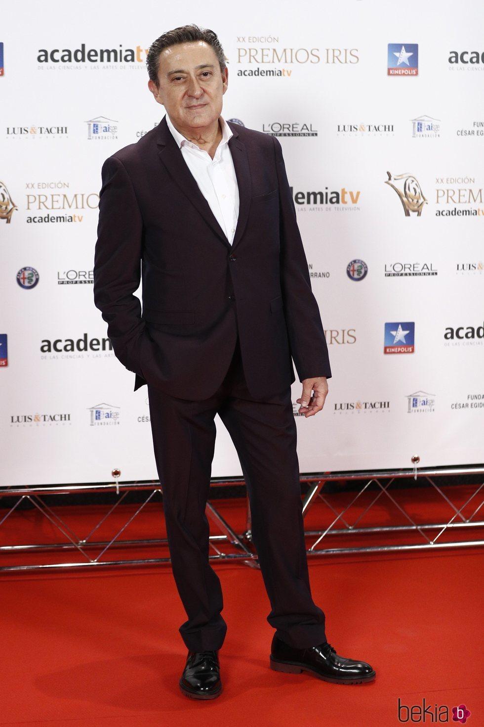 Mariano Peña en los Premios Iris 2018