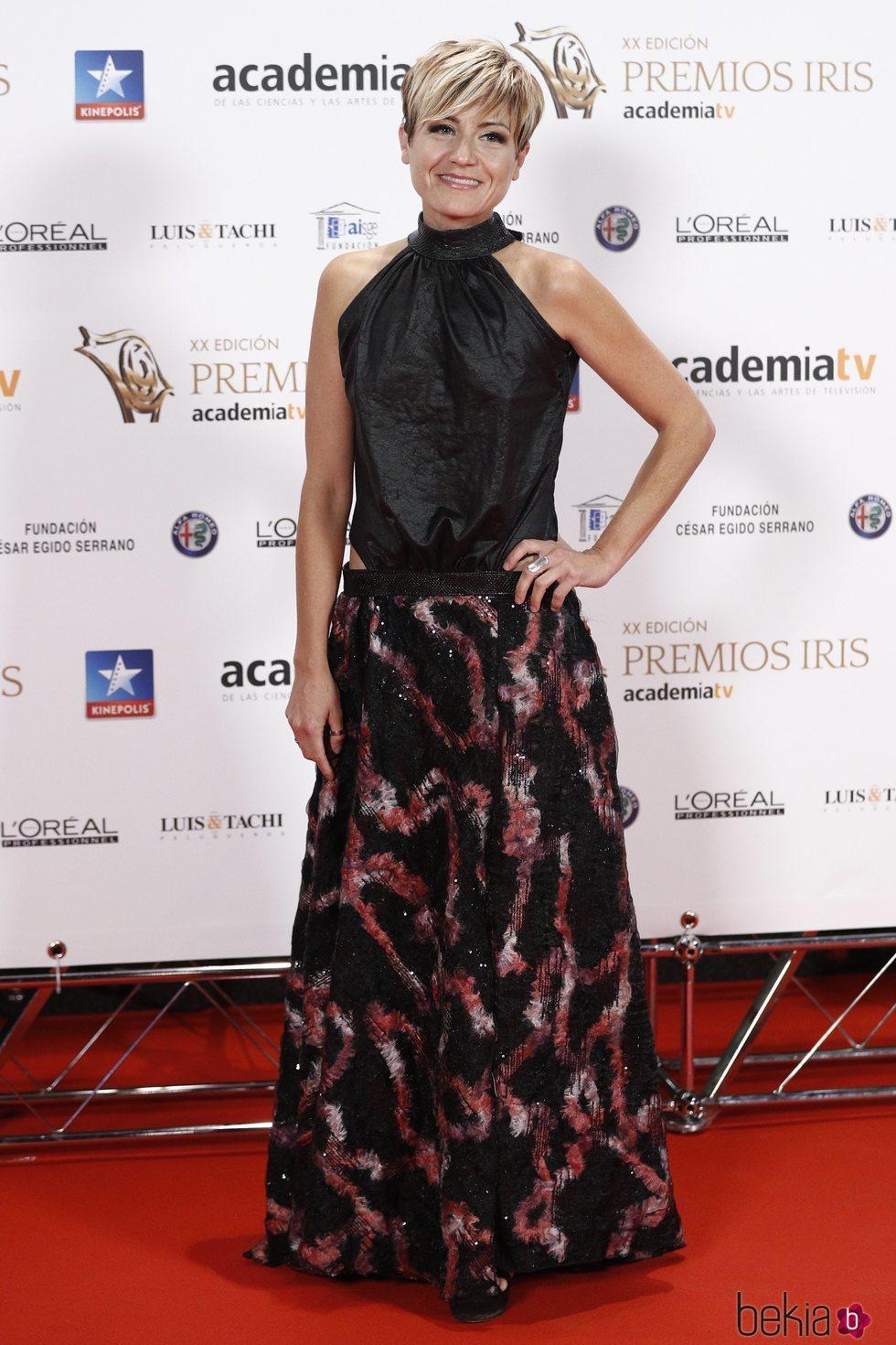 Sara Escudero en los Premios Iris 2018