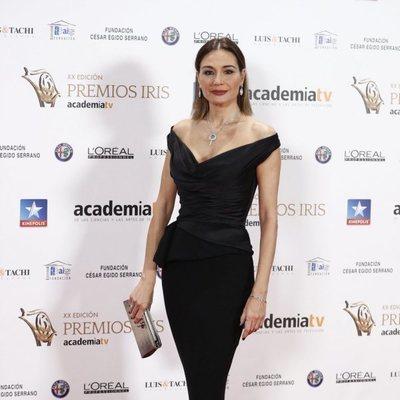 Juncal Rivero en los Premios Iris 2018