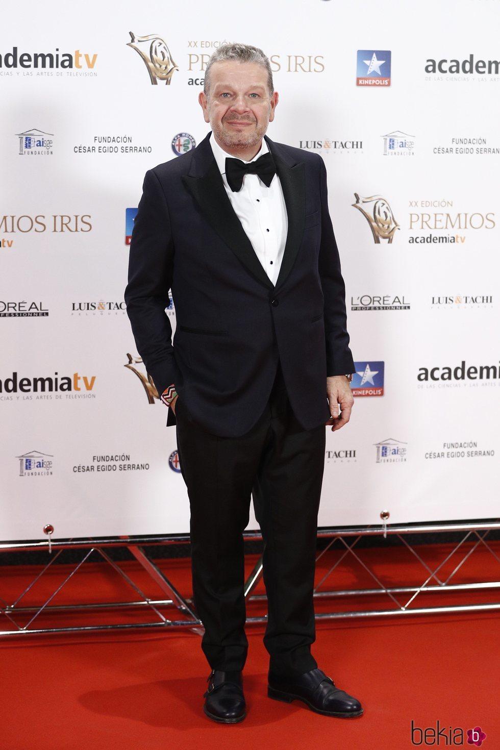 Alberto Chicote en los Premios Iris 2018