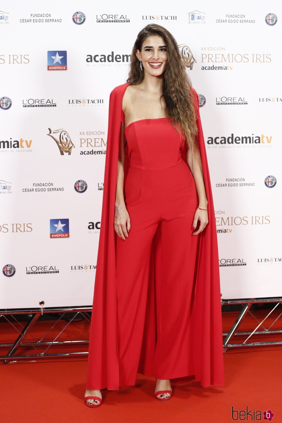 Lidia Torrent en los Premios Iris 2018