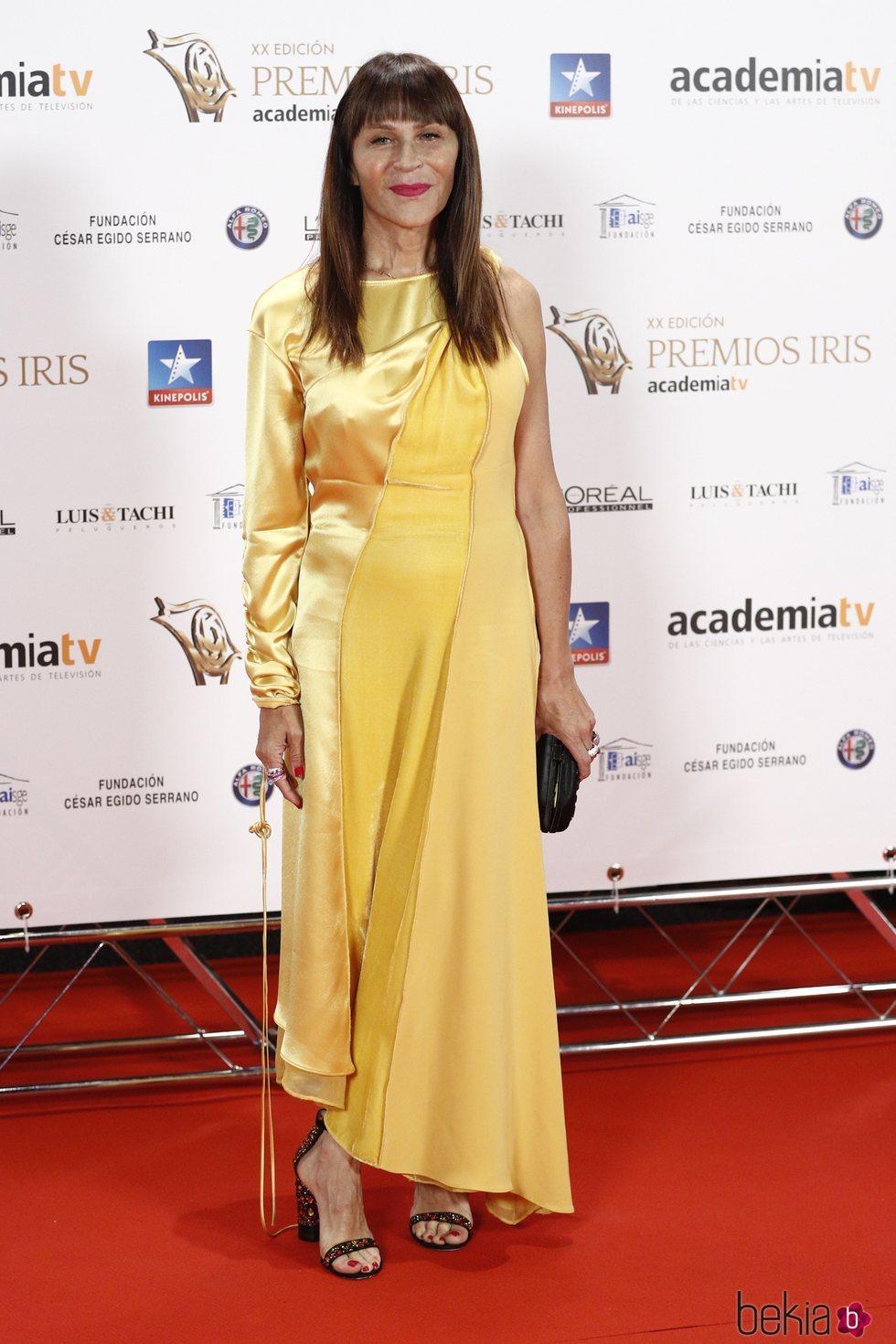 Antonia San Juan en lo Premios Iris 2018