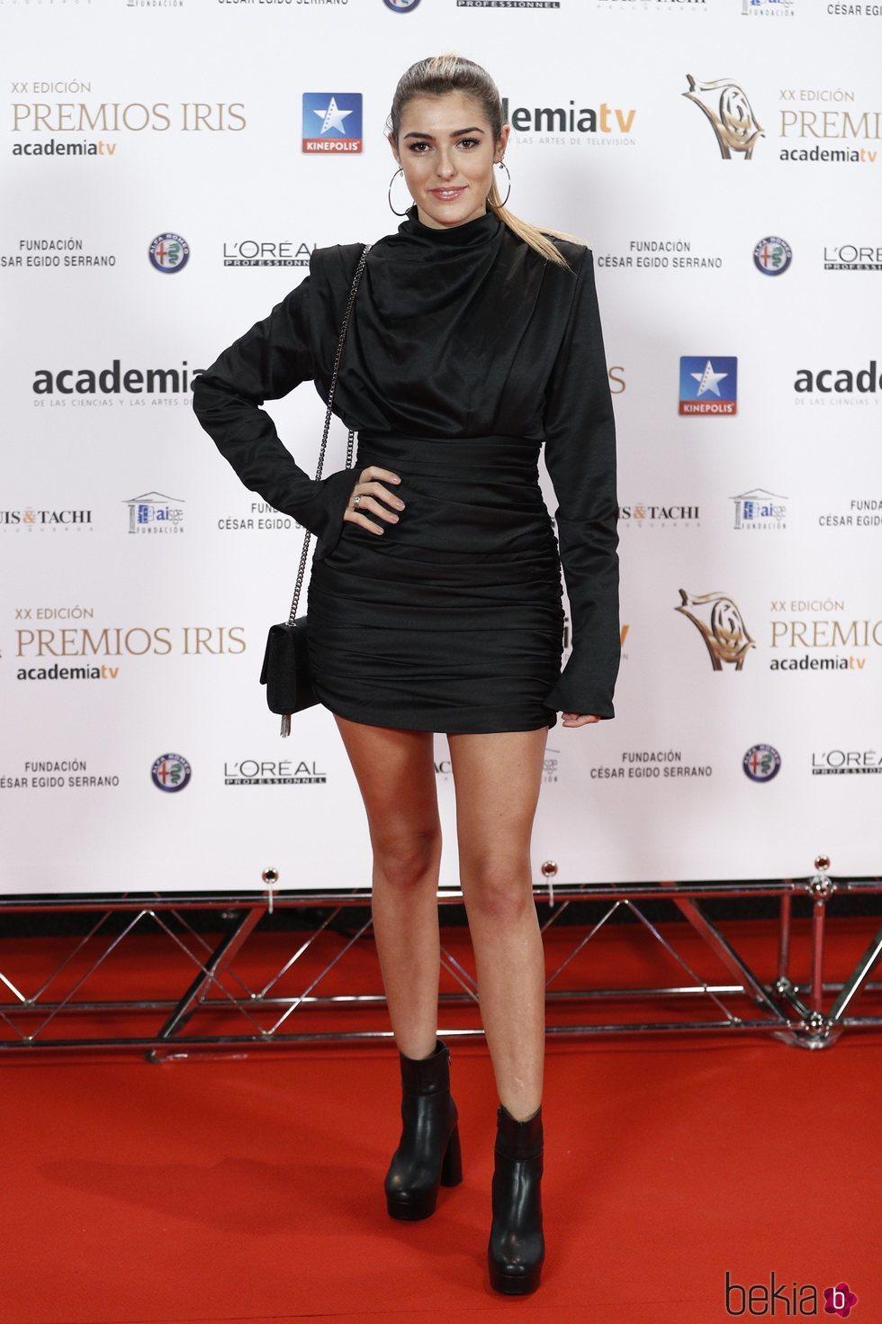 Ana Ferrer en los Premios Iris 2018