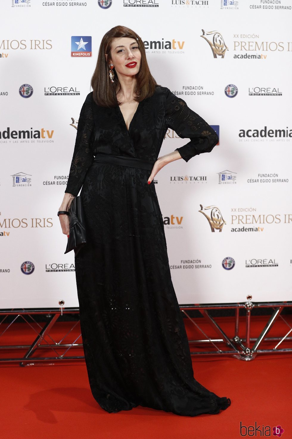 Natalia Ferviú en los Premios Iris 2018