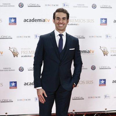 Daniel Muriel en los Premios Iris 2018
