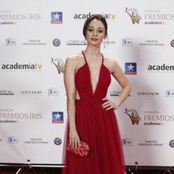 Elena Rivera en los Premios Iris 2018