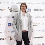 Ismael Beiro en los Premios Iris 2018
