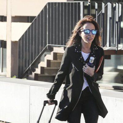 María Patiño a su llegada a los juzgados