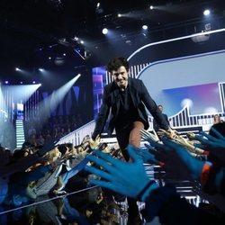 Miki cruza la pasarela como favorito en la Gala 5 de 'OT 2018'