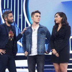 Damion y Marta tras convertirse en los nominados en la Gala 5 de 'OT 2018'