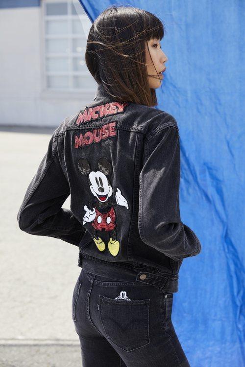 La colaboración de Levi's y Mickey Mouse en 2018