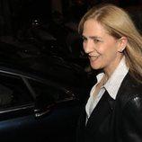 La Infanta Cristina saliendo de ver el musical 'El médico'