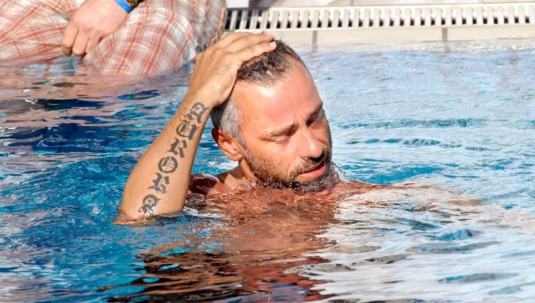 Eros Ramazzotti durante unas vacaciones en Milán