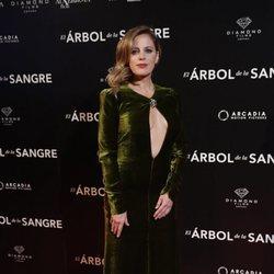 María Mollins en la premiere de 'El árbol de sangre'