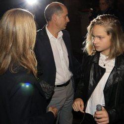 La Infanta Cristina y su hija Irene Urdangarin saliendo de ver el musical 'El médico'