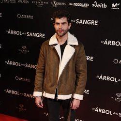 Diego Domínguez en la premiere de 'El árbol de sangre'