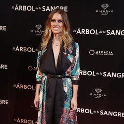 Manuela Vellés en la premiere de 'El árbol de sangre'