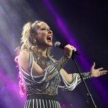 Rosario Mohedano en la presentación de su disco 'Me voy acercando a ti'
