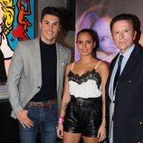 José Ortega Cano, Gloria Camila y Kiko Jiménez en la presentación del disco de Rosario Mohedano 'Me voy acercando a ti'