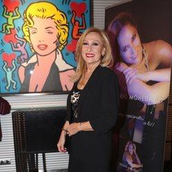 Rosa Benito en la presentación del disco de Rosario Mohedano 'Me voy acercando a ti'