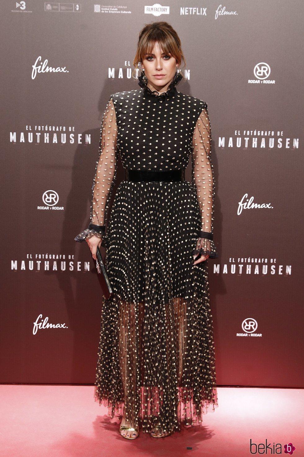 Blanca Suárez en el estreno de la película 'El fotógrafo de Mauthausen'