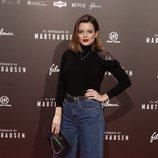 Adriana Torrebejano en el estreno de la película 'El fotógrafo de Mauthausen'