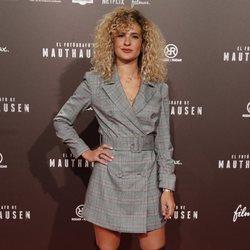 Sheila Casas, hermana de Mario Casas, en el estreno de la película 'El fotógrafo de Mauthausen'
