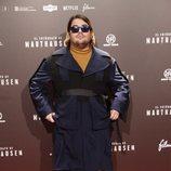 Brays Efe en el estreno de la película 'El fotógrafo de Mauthausen'