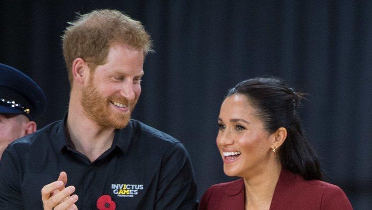 La complicidad del Príncipe Harry y Meghan Markle durante los Juegos Invictus 2018