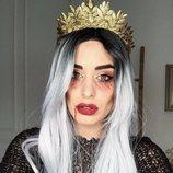 Dulceida maquillada para Halloween 2018